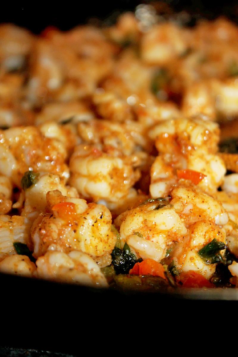 Stuffed Shrimp Bread-Creole Contessa