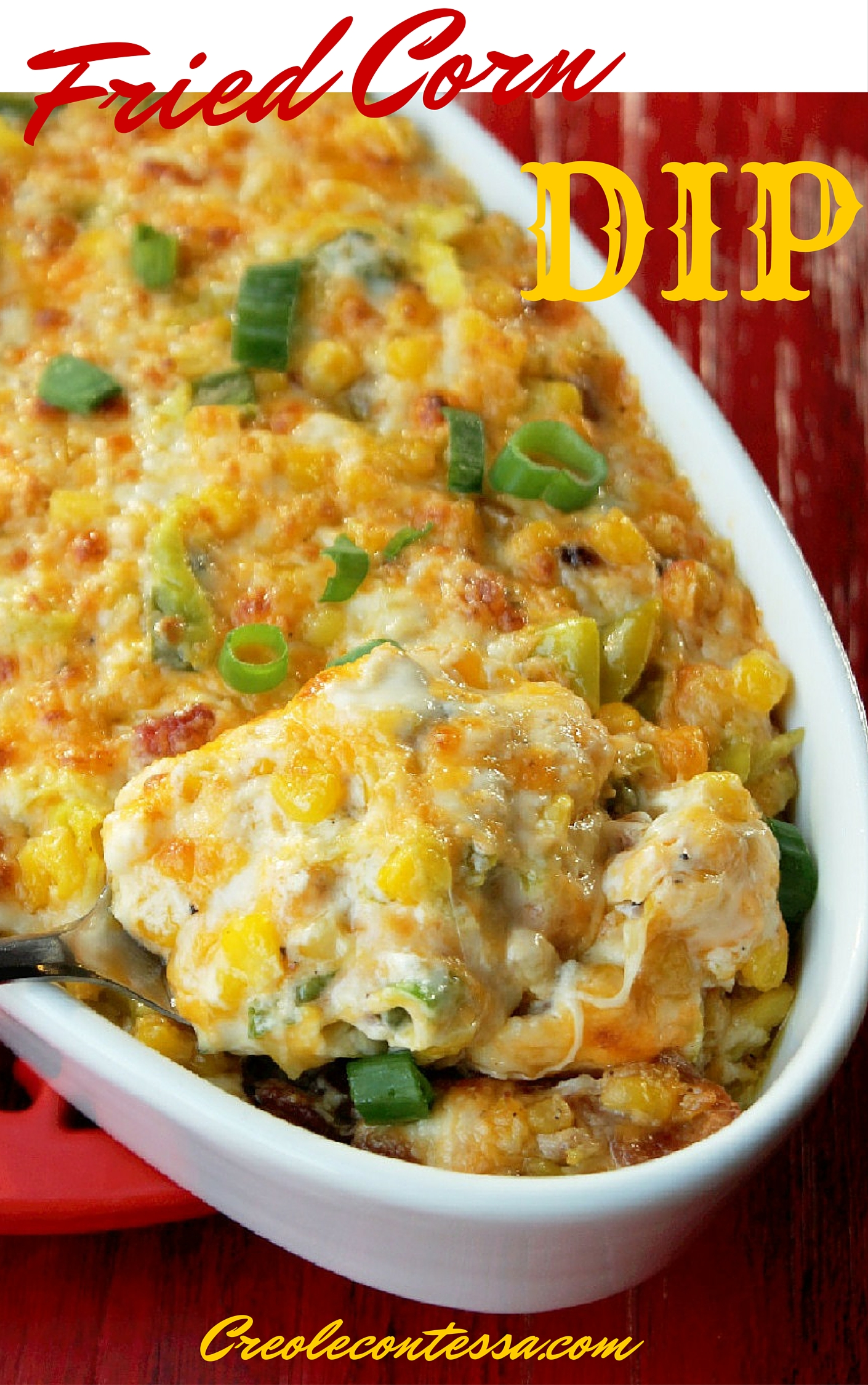 Fried Corn Dip with Bacon-Creole Contessa