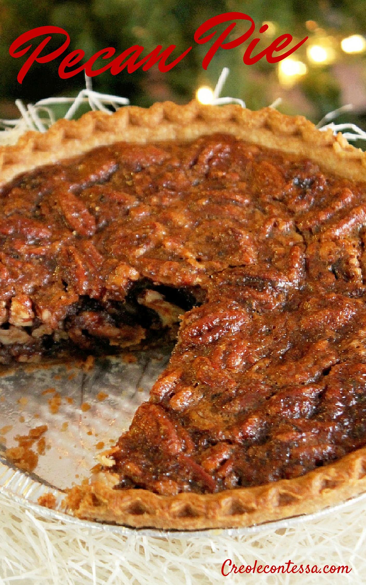 Loaded Pecan Pie-Creole Contessa