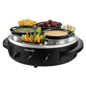 Crock Pot Triple Dipper Large