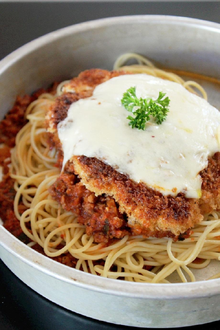 Chicken Parmigiana -Creole Contessa