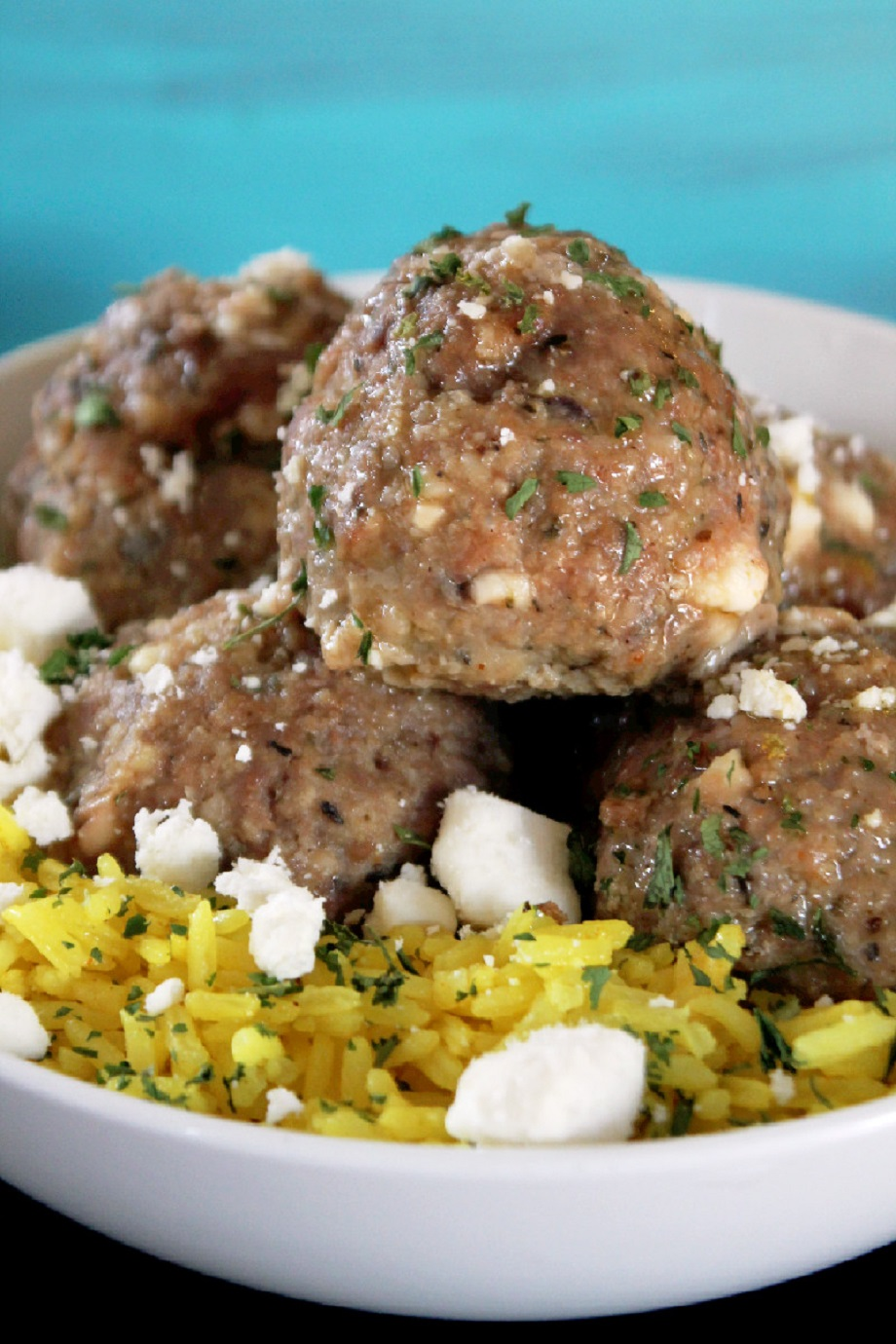 Greek Meatballs - Creole Contessa