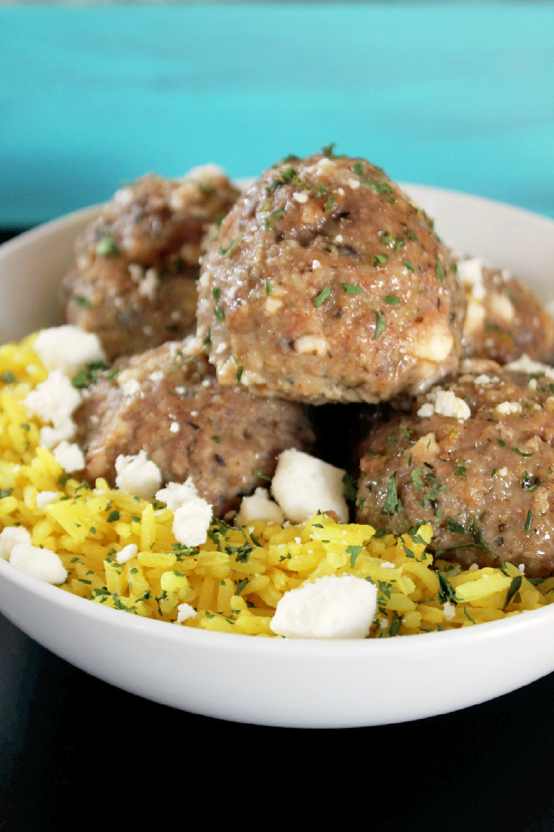Greek Meatballs-Creole Contessa