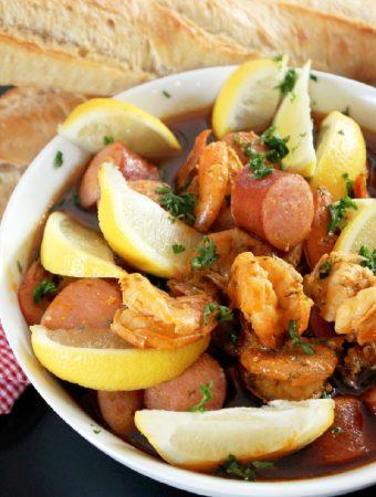 Cajun Mardi Gras Shrimp-Creole Contessa