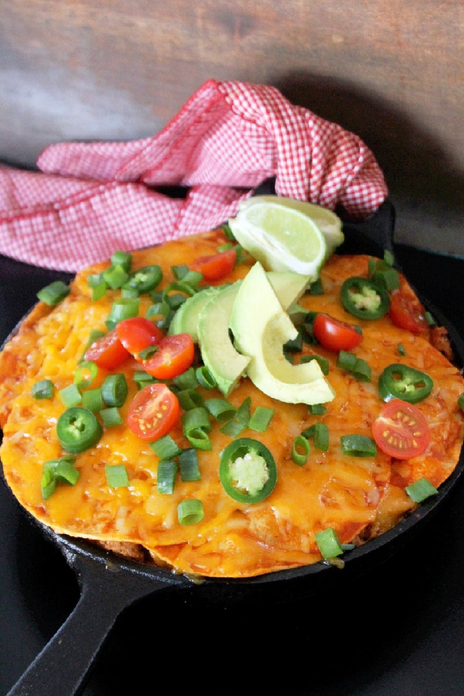 Skillet Enchiladas Casserole-Creole Contessa