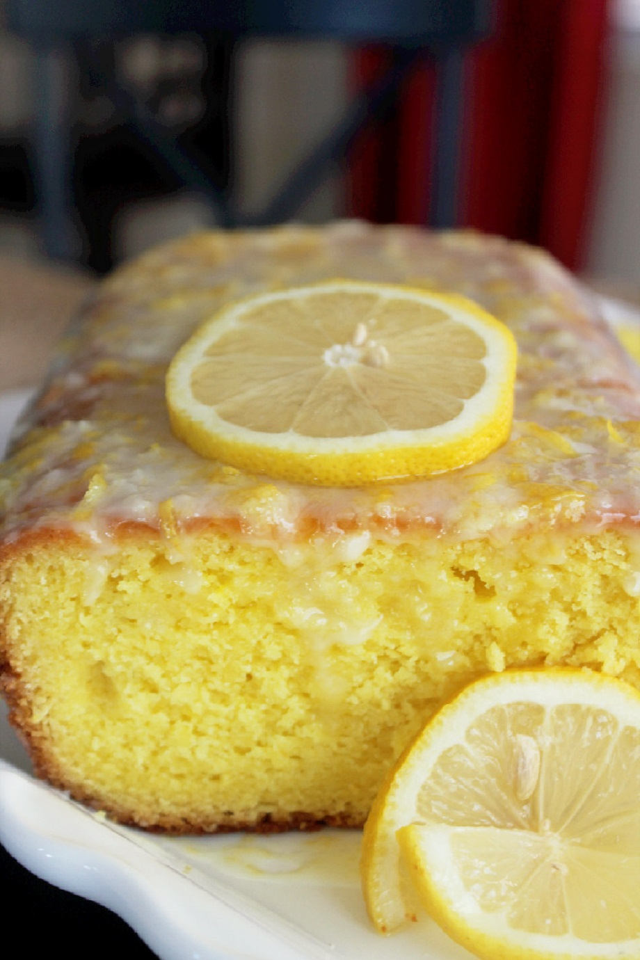 Copycat Starbucks Lemon Loaf Cake