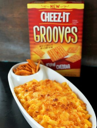 Cheez-It Macaroni and Cheese #BigGameSnacks