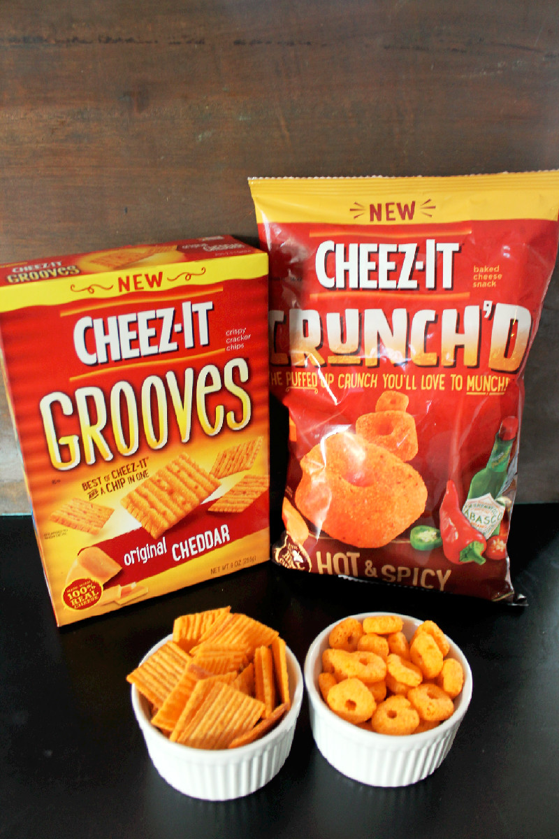 Cheez-It Macaroni and Cheese #BigGameSnacks-Creole Contessa