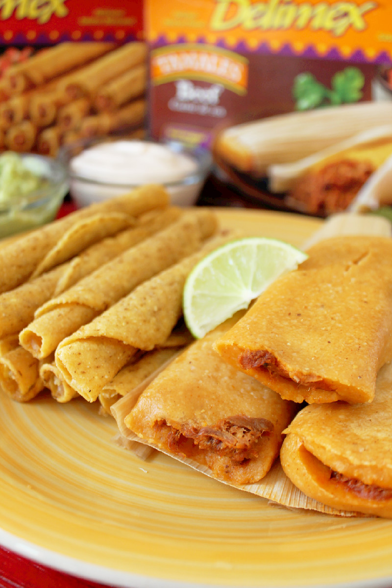 Get Your Game on with Delimex Taquitos