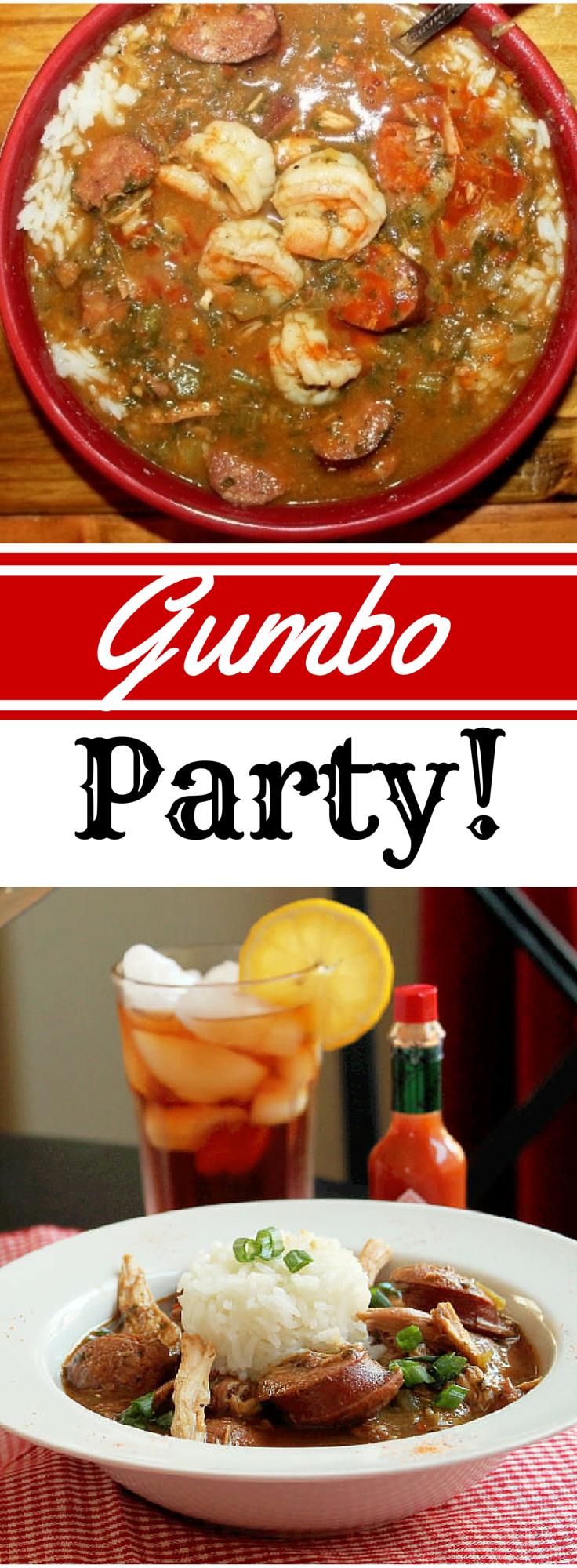 Gumbo Party-Creole Contessa