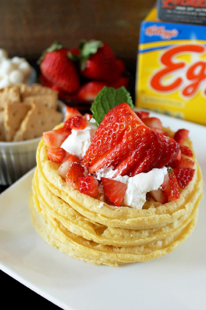 Kellogg's Eggo Waffles Bar