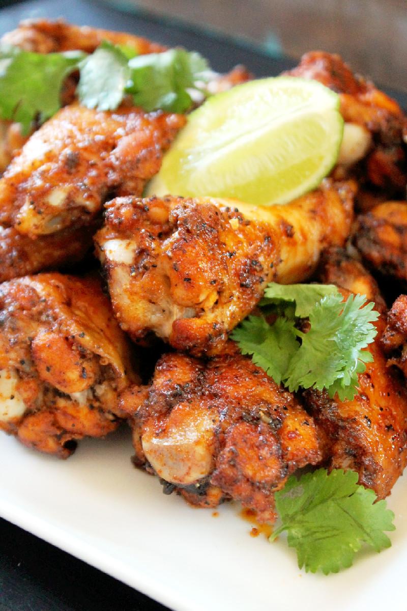 Baked Thai Chicken Wings-Creole Contessa