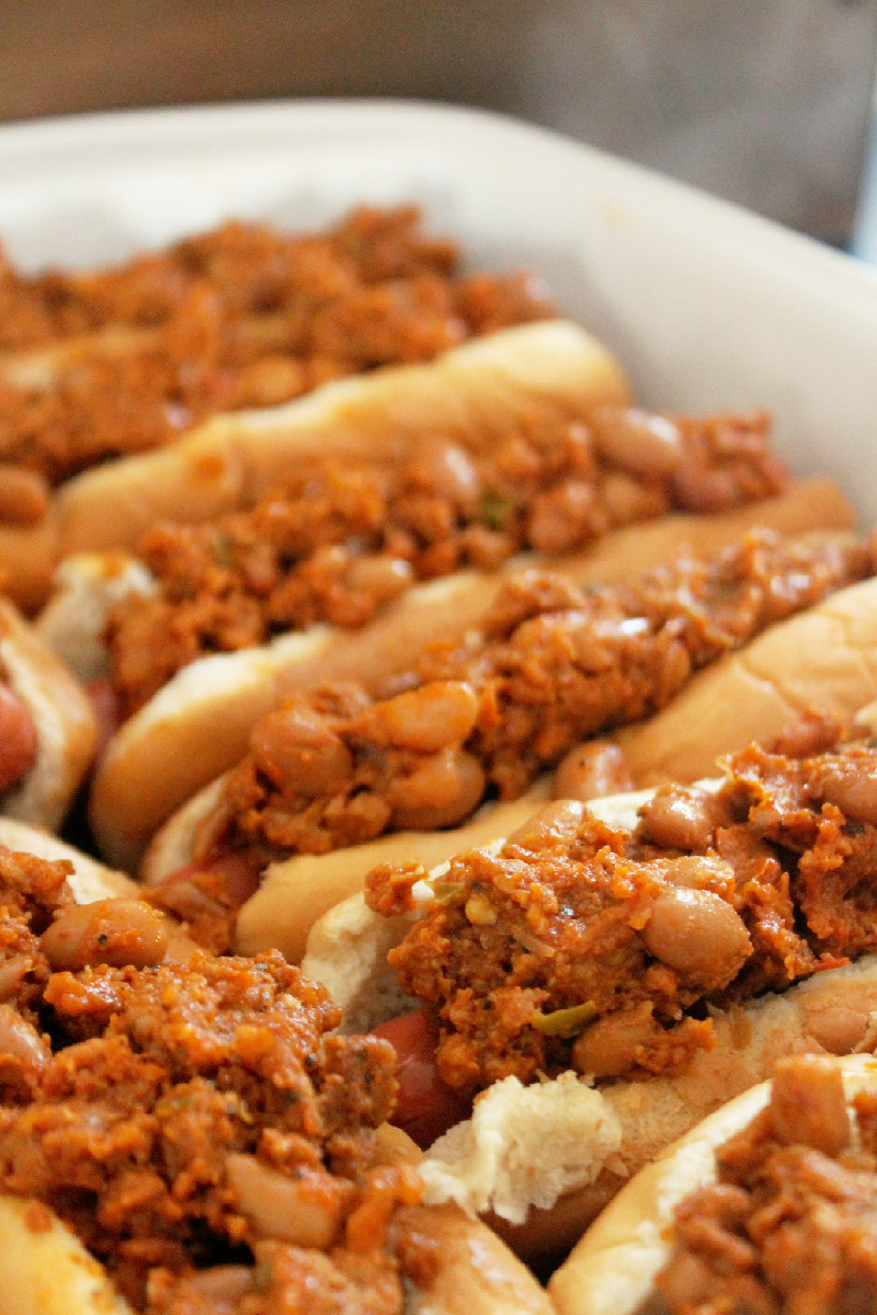 Bison Chili Cheese Dogs Recipes — Dishmaps