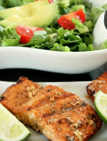 Citrus Marinated Grilled Salmon-Creole Contessa