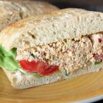 Greek Chicken Salad Sandwich