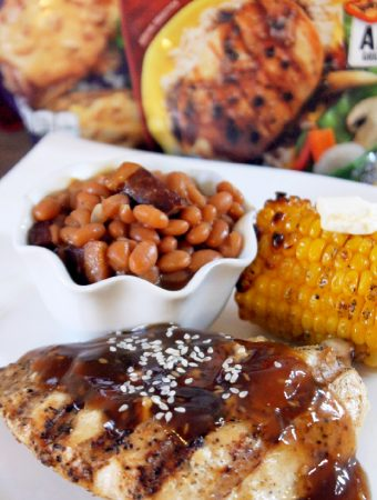 Grilled Teriyaki Chicken with Campbell's Grill Sauces