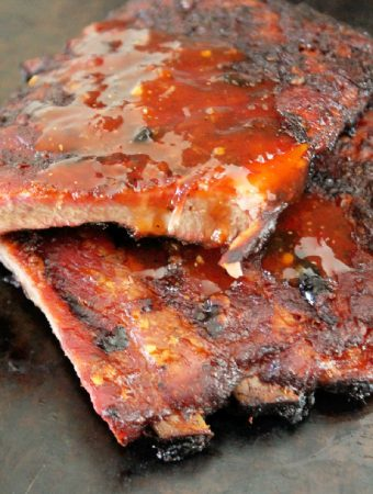Korean BBQ Ribs with Sweet & Sour Sauce -Creole Contessa