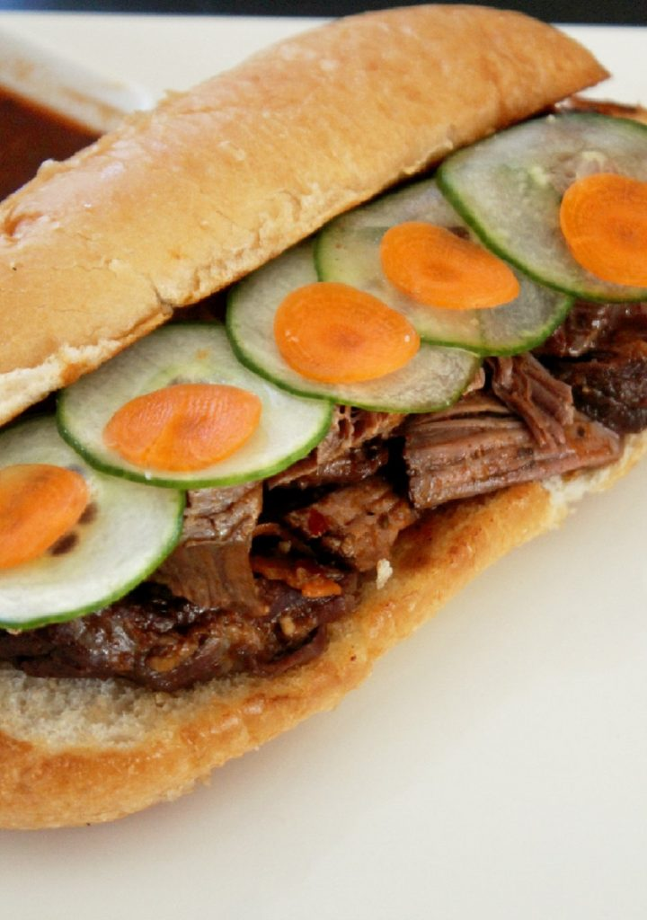 Korean Bulgogi Steak Sandwich-Creole Contessa