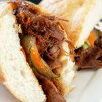 Korean Bulgogi Steak Sandwich