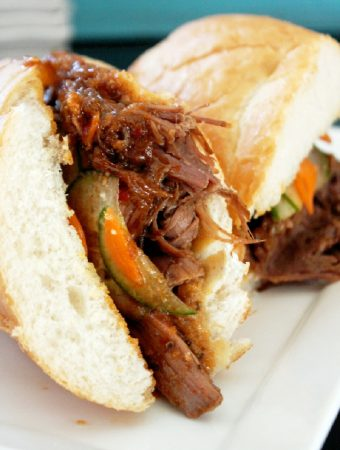 Korean Bulgogi Steak Sandwich