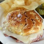Hot Ham and Cheese Sandwiches with Dairy Good Cookbook