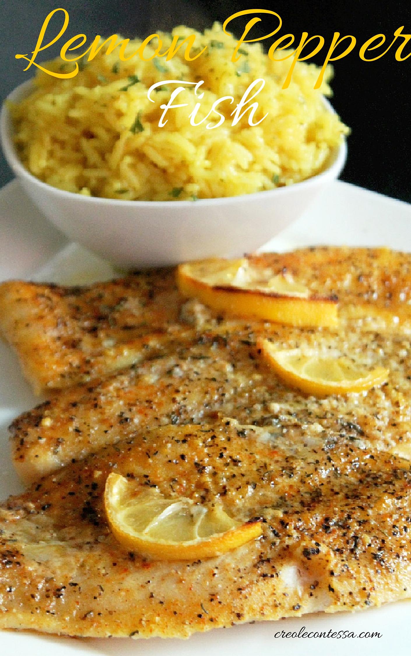 Fish marinade lemon for Lemon fish recipe