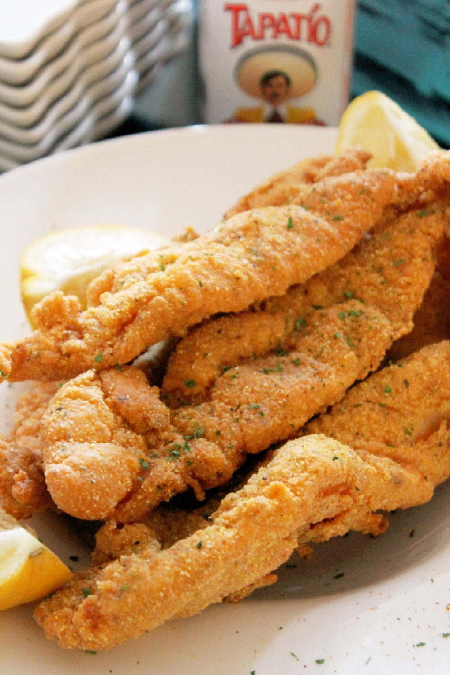 ... beautiful Sunday which means it's the perfect day to fry fish