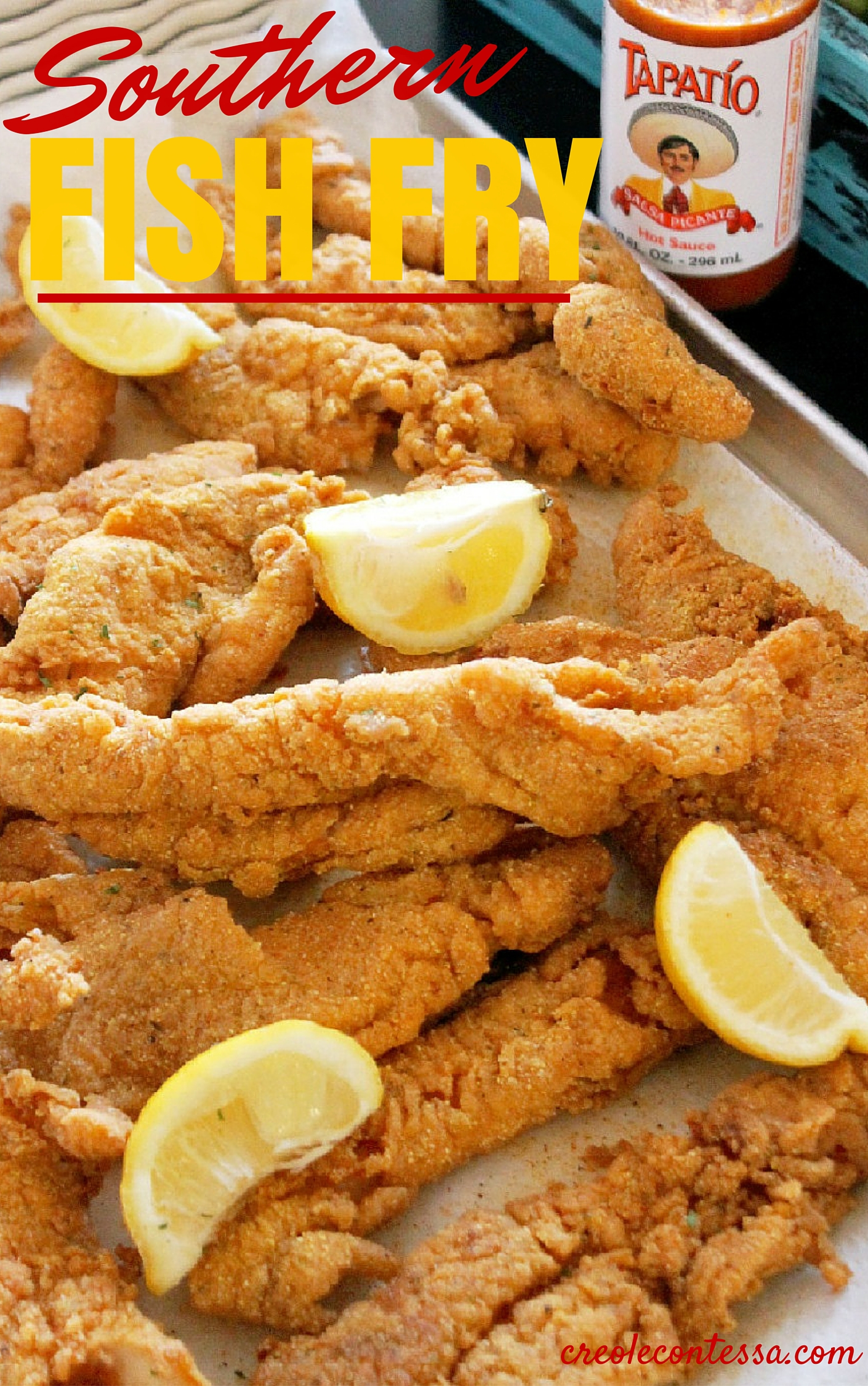 Southern fish fry for Frying fish recipes