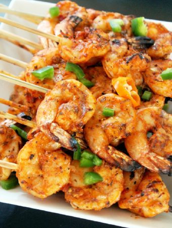 Spicy Yucatan Grilled Shrimp