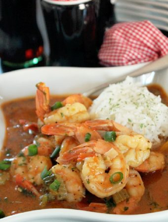 Shrimp Etouffee with Coca Cola and ESSENCE Festival 2015®