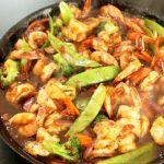Spicy Pineapple Shrimp Stir Fry
