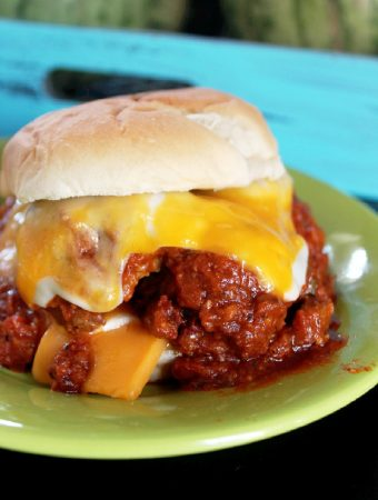 Cheesy Meatball Sandwiches