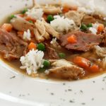 Slow Cooker Chicken Soup with Smoked Turkey and Success® Rice