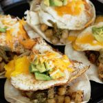 Hatch Chili Breakfast Tacos