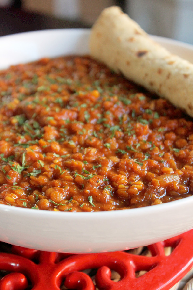 Slow Cooker Indian Lentil Stew-Creole Contessatew 280edited