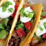 Baked Hot Wing Chicken Tacos
