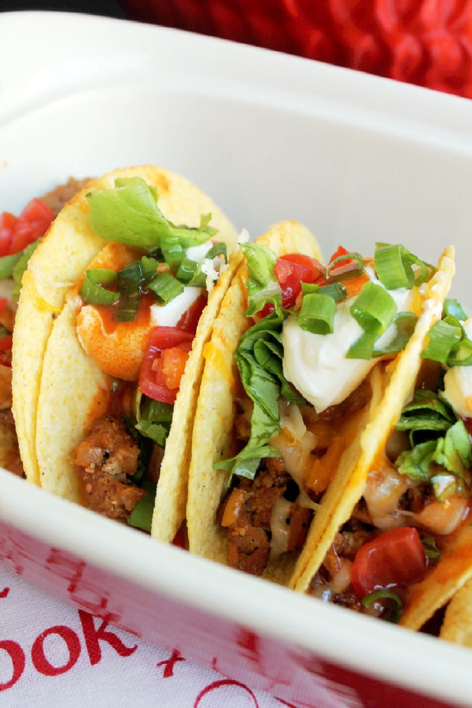 Baked Hot Wing Chicken Tacos-Creole Contessa