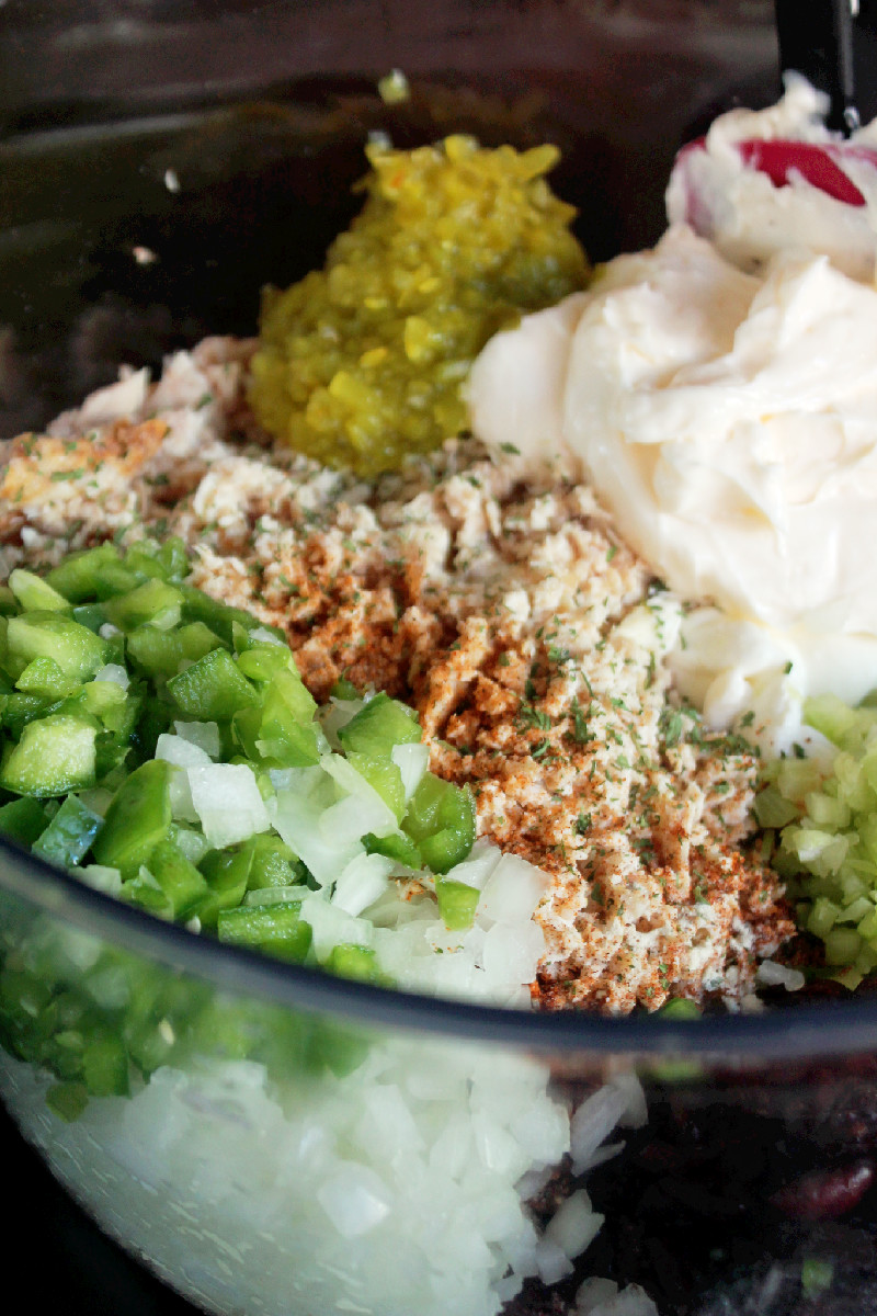 Holiday Chicken Salad Pecans & Cranberries-Creole Contessa