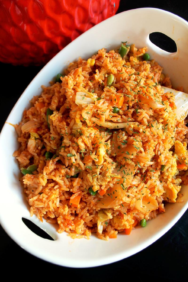 Kimchi Fried Rice-Creole Contessa