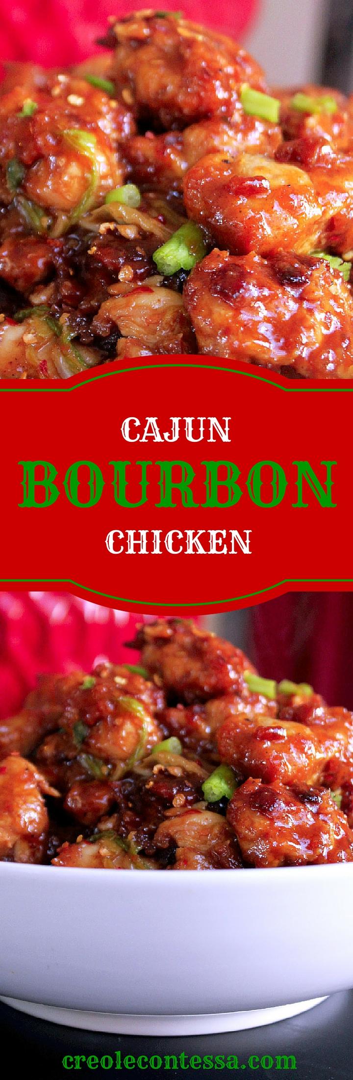 Cajun Bourbon Chicken-Creole Contessa