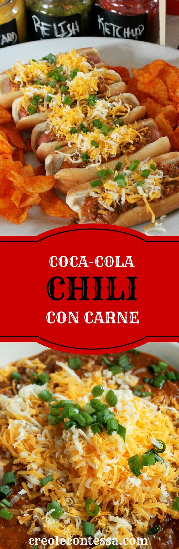 chili con carne coca cola