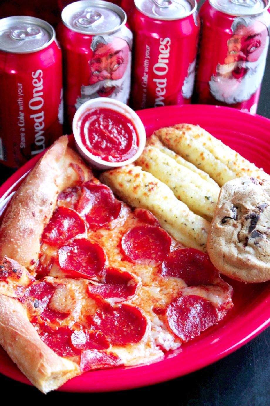 Coca Cola Family Pizza Combo at Sam's Club-Creole Contessa