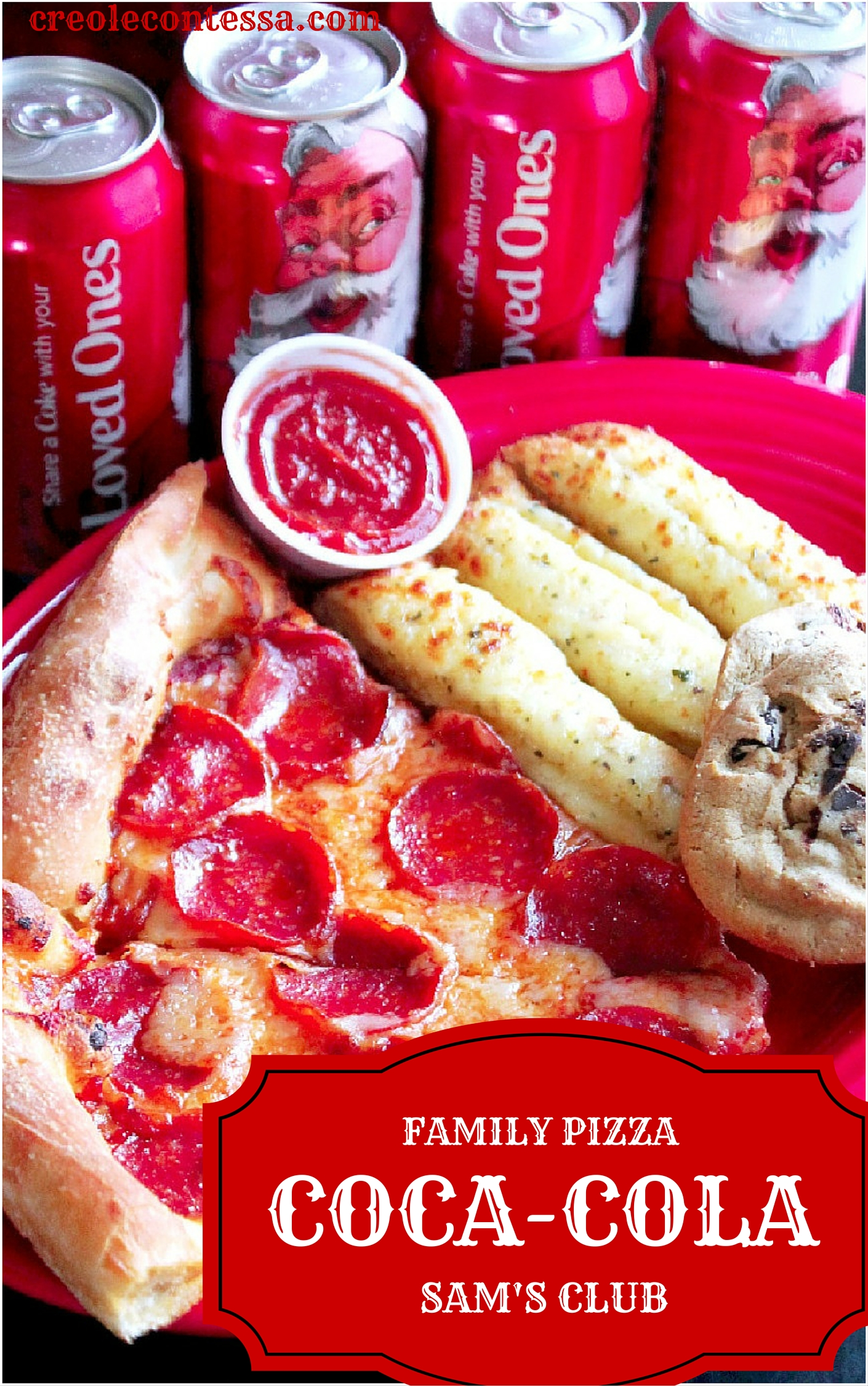 Coca Cola Family Pizza Combo at Sam's Club-Creole Contessa
