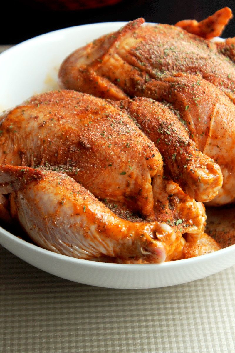 Creole Cornish Hens with Rice Dressing-Creole Contessa