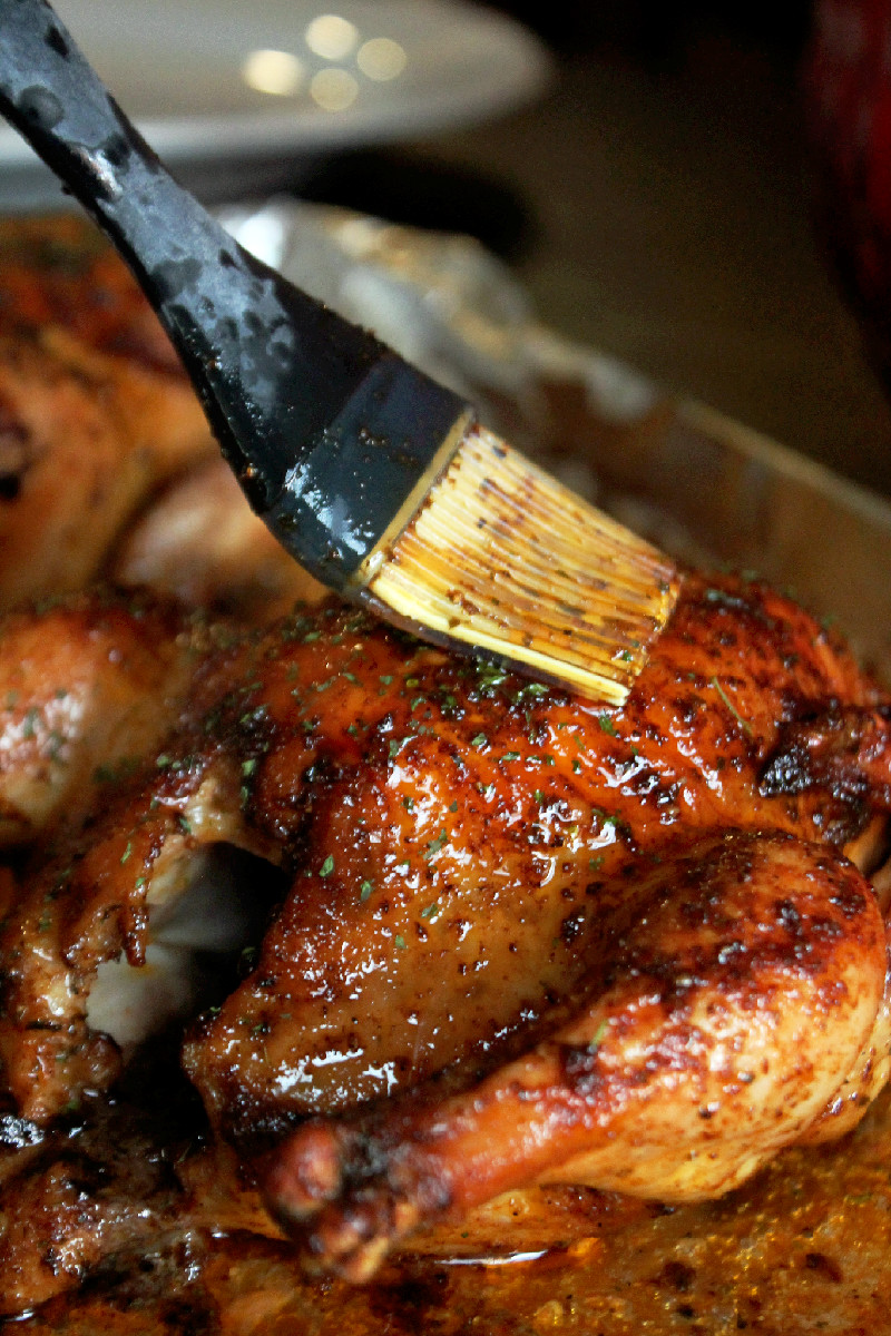 Creole Cornish Hens with Rice Dressing-Creole Contessa