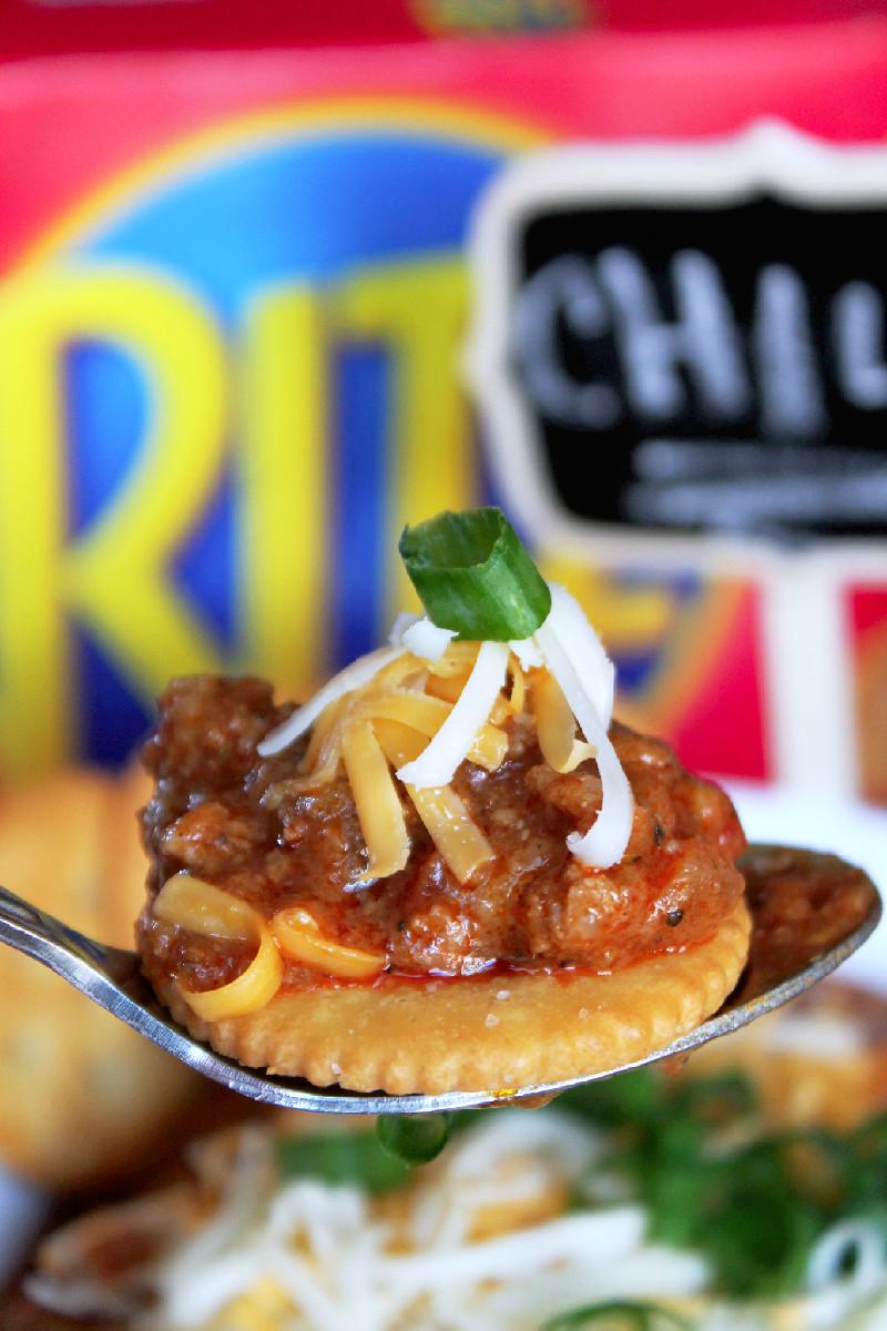 Ritz Crackers Elotes Dip-Creole Contessa