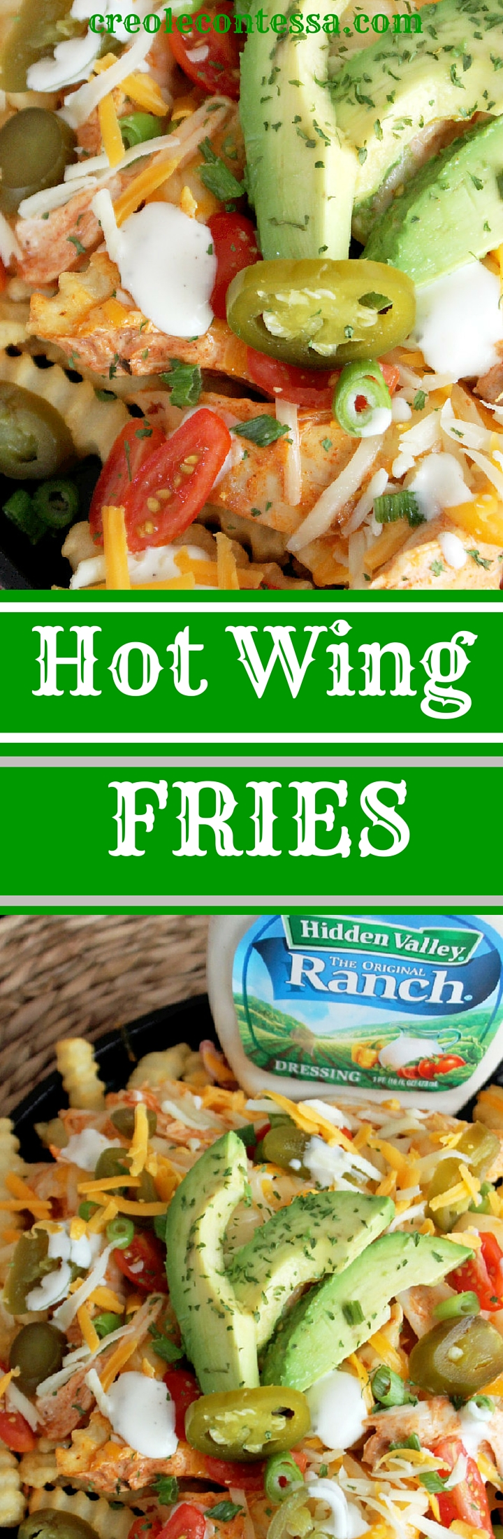 Hot Wing Chicken Fries-Creole Contessa
