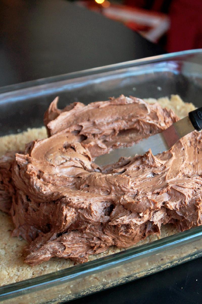 No Bake German Chocolate Cheesecake-Creole Contessa