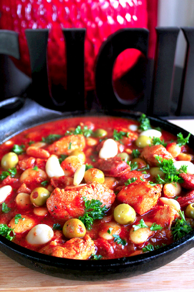 One Pot Spanish Chicken Stew-Creole Contessa