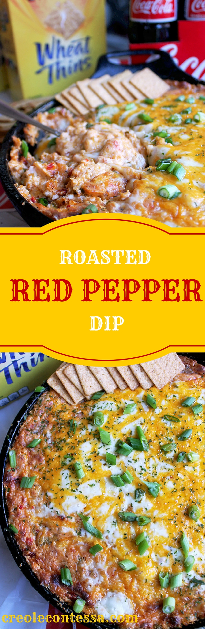 Roasted Red Pepper Dip-Creole Contessa